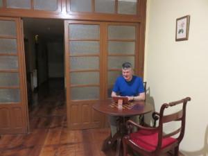 At work in Hemingway's Hangout