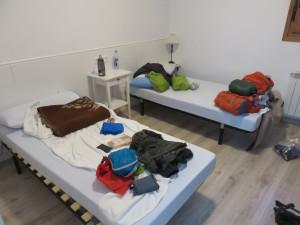Private Albergue room in Hornillos del Santiago