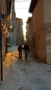 Walking out of Castrojeriz