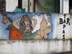 Spanish Bar Art