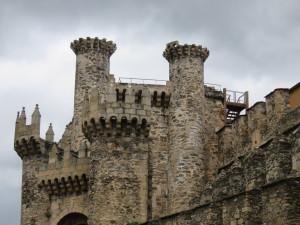 Templar Castle in Ponferrada