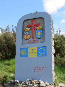 Galician Camino Marker