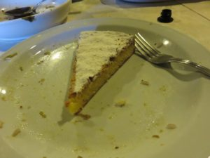 Santiago Cake--Typical Galician Dessert
