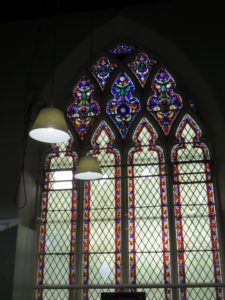 Last Stained Glass in the former church