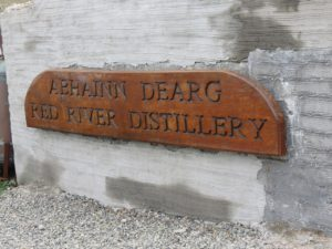 Lone distillery on the Isle of Lewis
