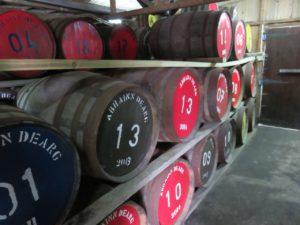 Distillery aging