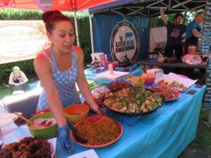 Turkish delicacies in a Brighton Market