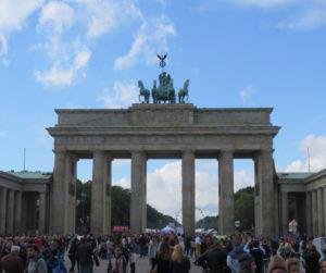 Brandenburg Gate from the former Death Zone