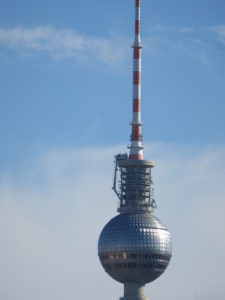 "The TV Tower with ""Pope's Revenge"""