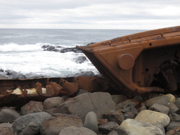Wreck on Lobster Bay